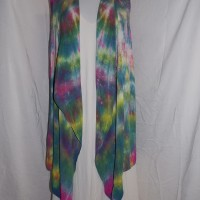 hand dyed long vest  (1)