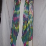 hand dyed long vest