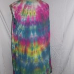 hand dyed long vest  (2)